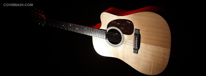 acoustic guitar facebook cover