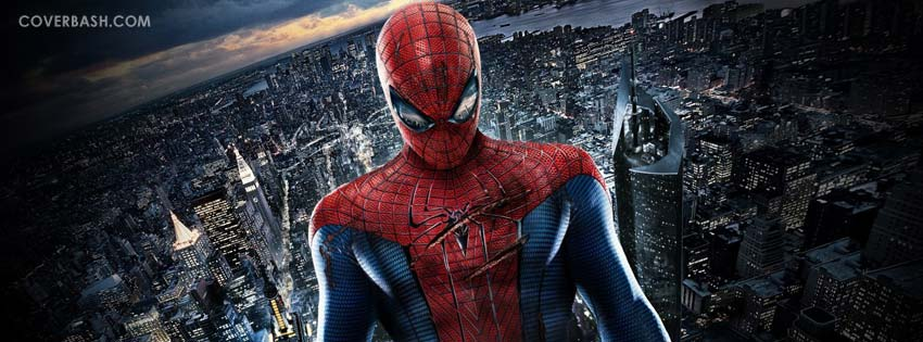 amazing spiderman facebook cover