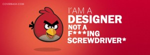 i am a designer facebook cover
