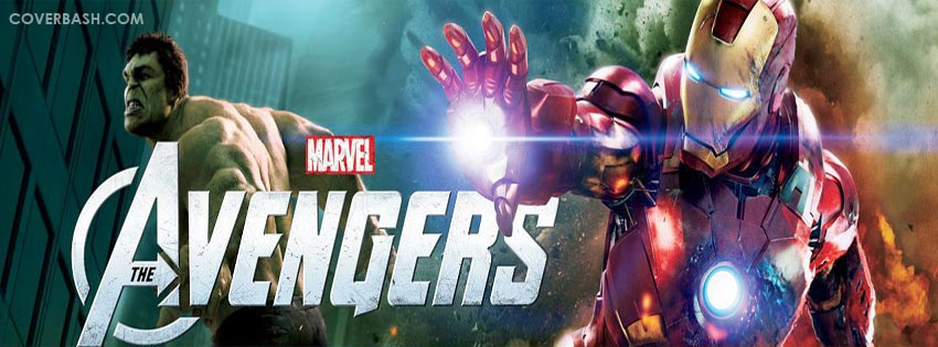 the avengers – iron man and hulk facebook cover