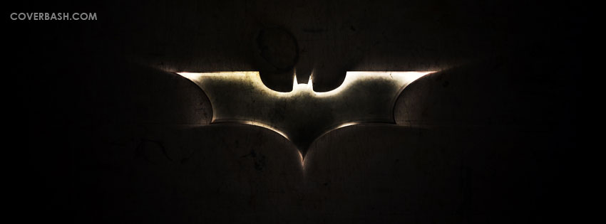 batman logo facebook cover