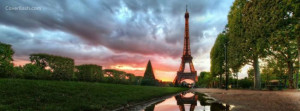 wonderful eiffel facebook cover