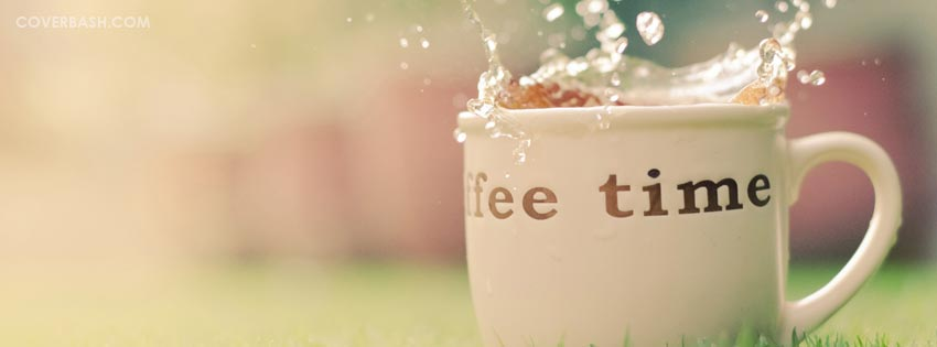 coffee time facebook cover
