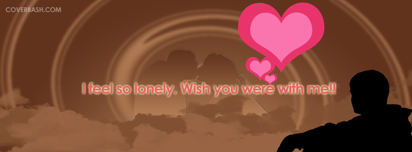 feeling lonely on valentine's day facebook cover