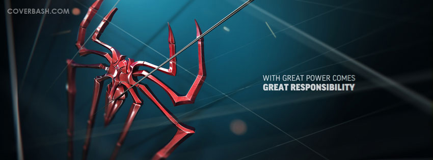 great responsibility facebook cover