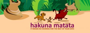 hakuna matata – no worries facebook cover