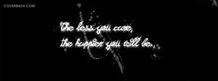 Quote For Happiness Facebook Cover