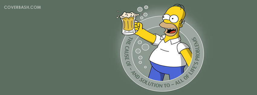 homer about bear facebook cover