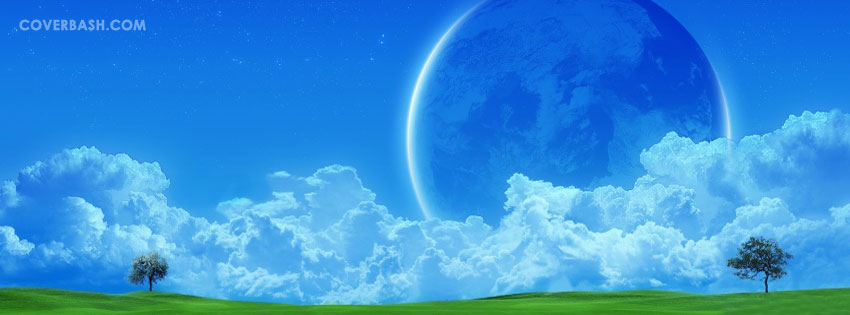 artistic sky facebook cover