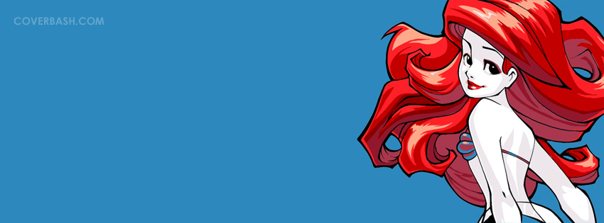 little mermaid facebook cover