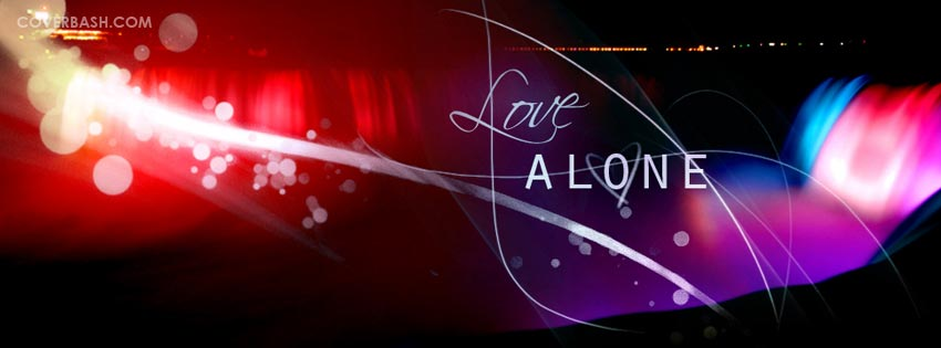 love alone facebook cover