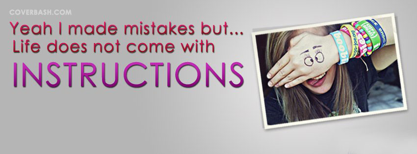 i made mistakes facebook cover