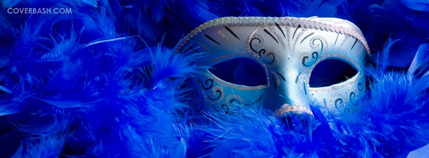 masquerade mask facebook cover