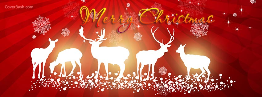 christmas dears facebook cover