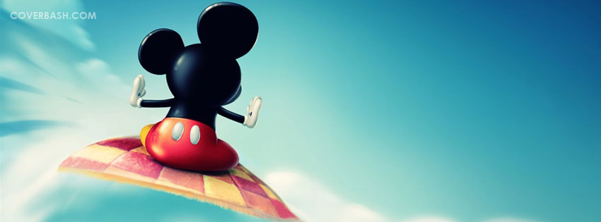 micky flying facebook cover