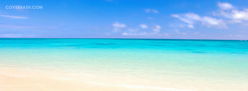 lonely beach facebook cover