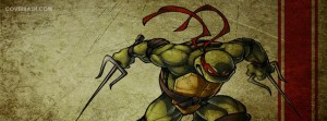 ninja turtles – raphael facebook cover