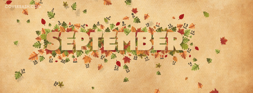 september facebook cover