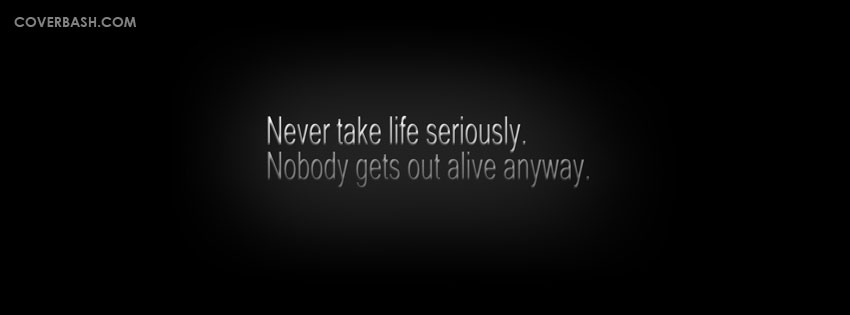 serious life facebook cover