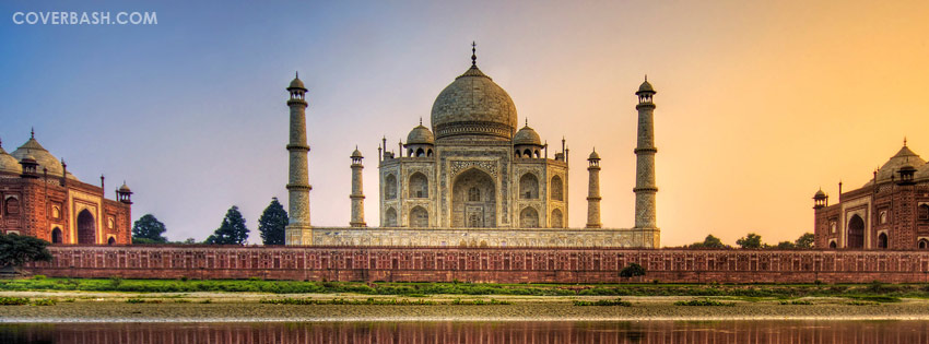 the wonder taj mahal facebook cover