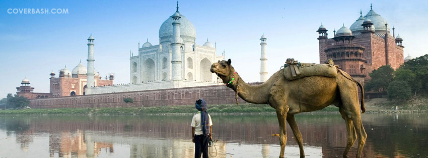 the taj mahal facebook cover