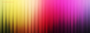 vibrant colors facebook cover